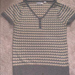 Ben Sherman Short Sleeve Knit Top